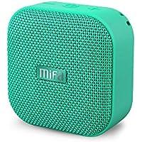 MIFA A1 Bluetooth スピーカー 【IP56防塵防水/ミニ/5W拡声器/TWS機能付き/12時間連続再生/ハンズフリー通話/Micro SDカード機能つき】(グリーン)
