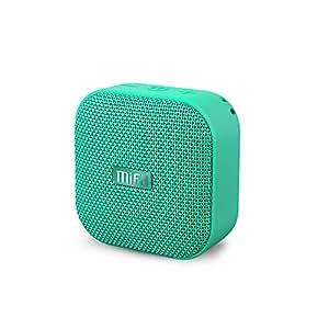 MIFA A1 Bluetooth 4.2 スピーカー IP56防塵防水 小型 5W拡声器 TWS機能付き 12時間連続再生 ハンズフリー通話 Micro SDカード機能つき (グリーン)