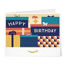 Amazonギフト券- 印刷タイプ(PDF) - 誕生日(ギフトボックス)