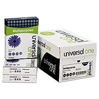 機能紙、98明るさ、20lb、8–1/ 2x 11、明るいホワイト、5000Shts / Ctn、として販売10Ream