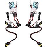 【ノーブランド品】H8 H9 H11用 キセノン 交換用 電球 6000K 35W 12V ヘッドライト ランプ 電球