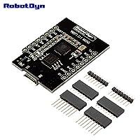 robotdyn–wemOs d1Mini、WiFi d1Mini esp8266+ 16MBの統合( Megabit )フラッシュ、usb-ttl ch340g