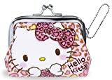 ハローキティ 財布 がま口 ラブリー レオパード RM-4368