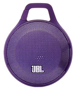 【国内正規品】JBL CLIP ポータブルワイヤレススピーカー Bluetooth対応 パープル JBLCLIPPURAS