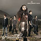 Remember♪HIGH and MIGHTY COLORのCDジャケット