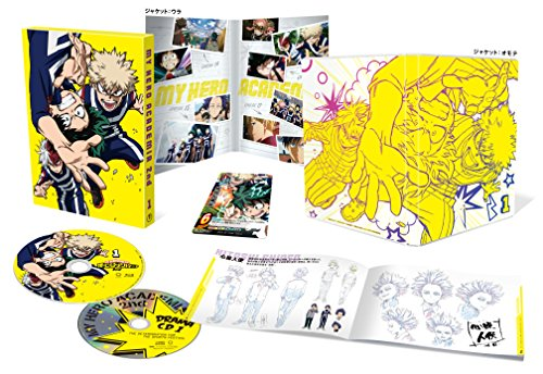 「僕のヒーローアカデミア」2nd Vol.1(初回生産限定版) [Blu-ray]