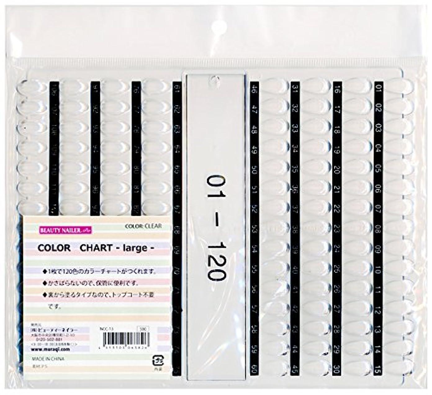 フォーマルバッフル測るカラーチャート ラージ(NCC-13)