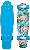 Penny Skateboards Nickel Plated Miami Skateboard, Multi Color, 27