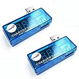 HiLetgo® 2個セット 電流検電機 USB 電�
