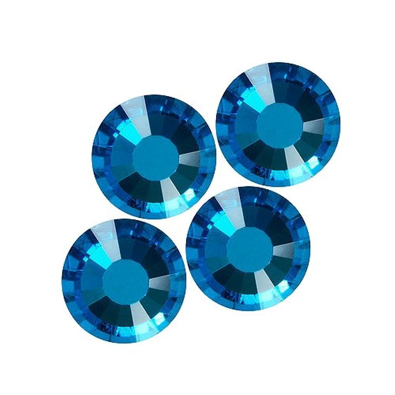 プリーツ縁いちゃつくバイナル DIAMOND RHINESTONE ブルージルコン SS8 720粒 ST-SS8-BUZ-5G
