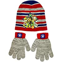 Paw Patrol Winter Hat and Gloves Set for Boys, One Size Fits Most