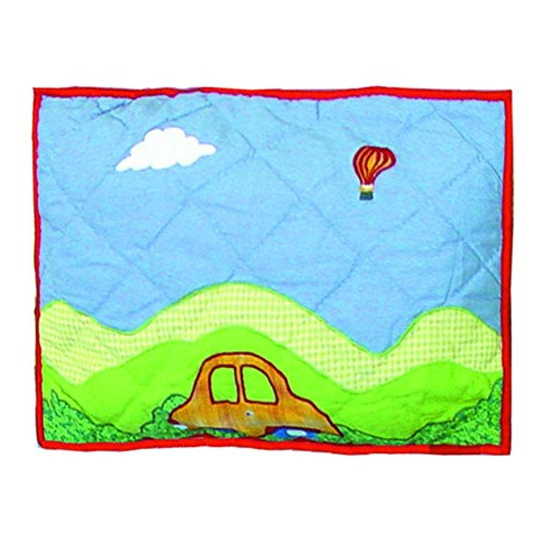 パッチマジックBig City Cribトス枕、16 × 12インチ