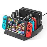 Nintendo Switch 充電スタンド Switch&Proコントローラー同時充電 多機能スタンド 任天堂switch充電ドック