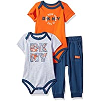 DKNY Baby Boys Bodysuit and Pant 2 Piece Set
