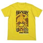 スマイルプリキュア! 泣かないで、キュアピースTシャツ イエロー サイズ:M