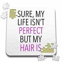 Tory Anneコレクション引用–Sure My Life Isntが完璧な私の髪は–10x 10インチパズル( P。_ 240315_ 2)