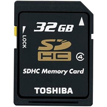 【Amazon.co.jp限定】TOSHIBA SDHCメモリカード Class4 32GB SD-AH32GWF [フラストレーションフリーパッケージ(FFP)]