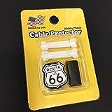 ROUTE66 USB ケーブルプロテクター ルート66 R66 ケーブル 保護 充電コード アメリカン雑貨