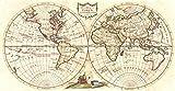 Historicマップ| 1785A世界の新しいマップ| Lumsden 72in x 36in 5117060_7236