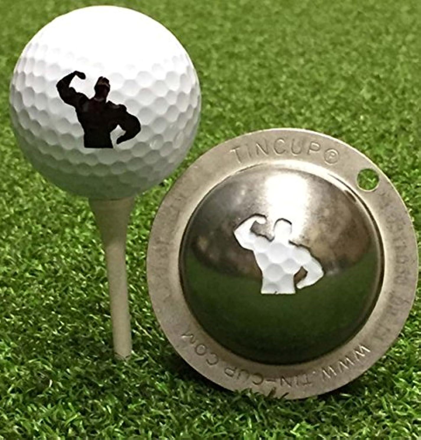 ペネロペリンケージ傷つきやすいTin Cup Big Hitterゴルフボールカスタムマーカー線形ツール