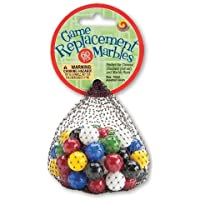Mega Marbles 14mm Game Replacement Marbles - 60 Piece by Mega Marbles