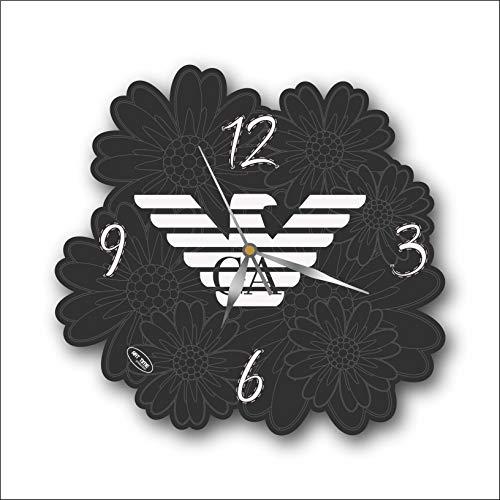 Armani 11'' 壁時計アルマーニあなたの友人のための最高の贈り物。あなたの家のためのオリジナルデザイン