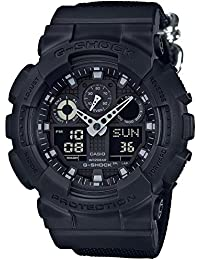 [カシオ]CASIO 腕時計 G-SHOCK Military Black GA-100BBN-1AJF メンズ