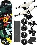 "Primitive Skateboarding Transformersホットロッドスケートボード8"" x 31.9"" Complete Skateboard–7項目のバンドル"