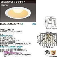 東芝 一般形電球付DL E26Ф150 LEDC-25002B(W)