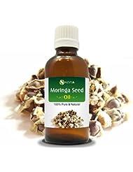MORINGA SEED OIL (MORINGA-OLEIFERA) 100% NATURAL PURE CARRIER OIL 50ML