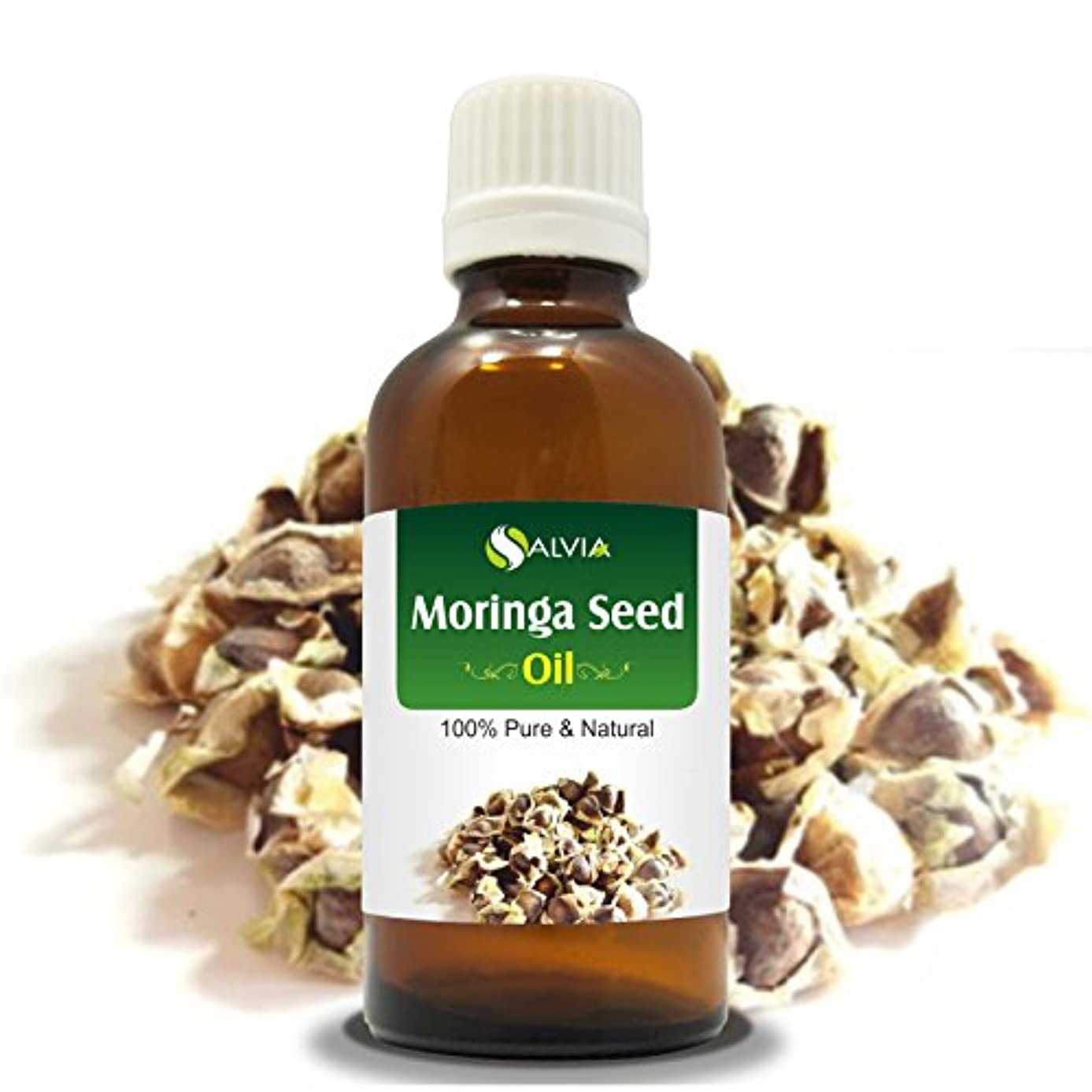 エーカー性的存在するMORINGA SEED OIL (MORINGA-OLEIFERA) 100% NATURAL PURE CARRIER OIL 100ML