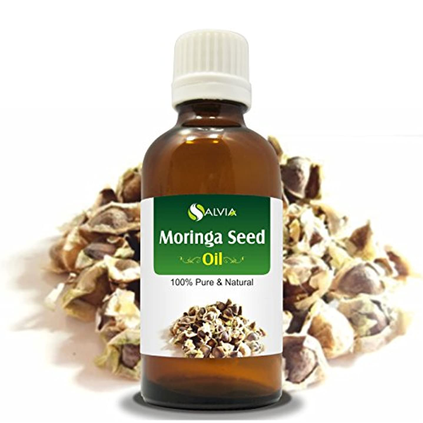 ジェームズダイソンオートメーション代替MORINGA SEED OIL (MORINGA-OLEIFERA) 100% NATURAL PURE CARRIER OIL 50ML