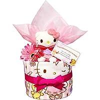 おむつケーキ キティちゃん 出産祝い 女の子 1601(出産祝い)