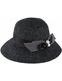 ymfie Ladies夏Broad余白レジャーファッションアウトドア太陽保護ビーチ帽子Fisherman Hat Sun Hat Straw Hat。