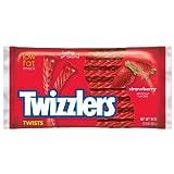 Twizzlers Twists ツイストストロベリー味 453g 16oz 並行輸入品