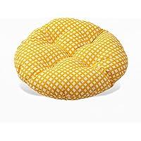YuuKo(ユウコ)コットン座布団畳み椅子用円形綿カバー40*40