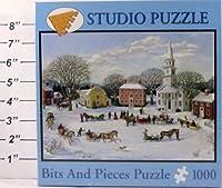 """Studio Puzzle 1000Pieceパズル20"""" x 27""""クリスマス村"""