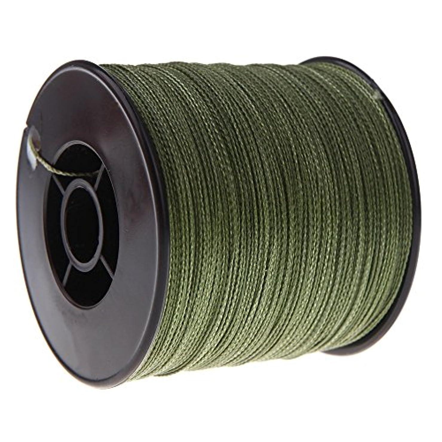 連想森果てしないACAMPTAR 300M釣り糸 100 LB 0.55mm 丈夫 PE 編み 緑