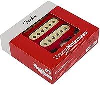 Fender フェンダー Vintage Noiseless Strat Set of 3 ストラトキャスターギター用ピックアップ 『並行輸入品』