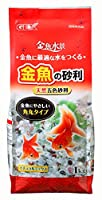 ジェックス 金魚水景 金魚の砂利ナチュラルミックス 1kg