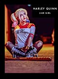 【LIAR GIRL】スーサイドスクワッド ハーレイ・クイン コスプレ衣装一式 (M) [並行輸入品]