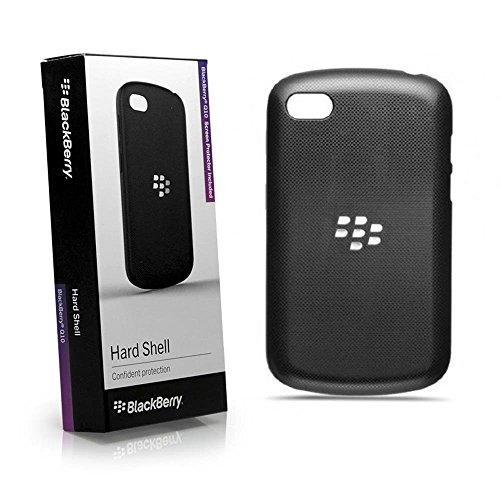 BlackBerry ACC-50877-301 Q10 Black Hard Shell Cover for Rim BlackBerry Q10- Retail Packaging - Black by BlackBerry [並行輸入品]