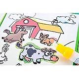 leegor教育玩具クリスマスギフト魔法水図面帳Coloring Book Doodle Magicペン動物ペイント