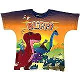 Blippi Child Dinosaur Shirt for Kids