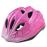 Life connection ヘルメット こども用 自転車 超軽量 l585 ピンク B
