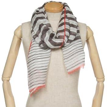 Rayon Linen Silk Scarf 1351436: Brown