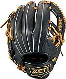 ゼット(ZETT) 少年野球 軟式 グラブ (グローブ) グランドヒーロー オールラウンド 右投げ用 ブラック×オークブラウン(1936) サイズM(身長130~145cm向け) BJGB72930