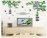 (キング デラックス) KING DELUXE ウォールステッカー 壁飾り ウォールペーパー 壁紙 シール ステッカー 木 鳥