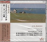 J.S.バッハ/ヴァイオリン・ソナタ第1番ロ短調BWV1014、第3番ホ長調BWV1016、第4番ハ短調BWV1017、第6番ト長調BWV1019 ANC136