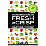 ICD Online Fresh & Crisp Resealable Storage 8 Bags, 8 count, Pack of 8